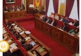 Pleno de octubre de 2011 del Ayuntamiento de Badajoz