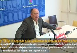 """Vegas: """"El Eje 16 depende de los gobiernos de derecha de Francia y Portugal"""""""