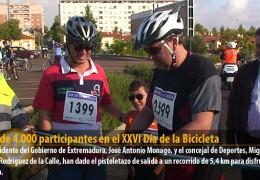 Más de 4.000 participantes en el XXVI Día de la Bicicleta