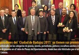 Los ganadores del `Ciudad de Badajoz 2011´ ya tienen sus premios