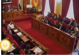 Pleno extraordinario de noviembre de 2011 del Ayuntamiento de Badajoz