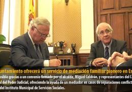 El Ayuntamiento ofrecerá un servicio de mediación familiar pionero en España