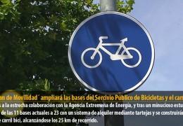 El `Plan de Movilidad´ ampliará las bases del Sercivio Público de Bicicletas y el carril bici