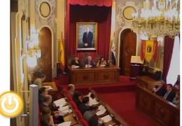 Pleno de diciembre de 2011 del Ayuntamiento de Badajoz