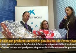 1.040 cajas con productos navideños para los más desfavorecidos
