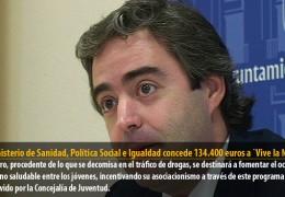 El Ministerio de Sanidad, Política Social e Igualdad concede 134.400 euros a `Vive la Noche´