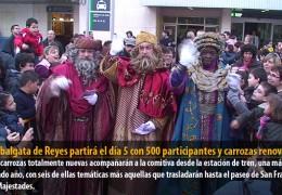 La Cabalgata de Reyes partirá el día 5 con 500 participantes y carrozas renovadas