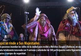 Badajoz se rinde a Sus Majestades
