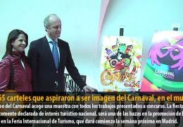 Los 65 carteles que aspiraron a ser imagen del Carnaval, en el museo