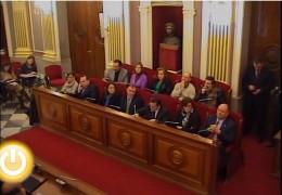 Pleno de enero de 2012 del Ayuntamiento de Badajoz