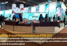Inaugurado el stand de Extremadura en FITUR 2012