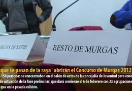 `Los que se pasan de la raya´ abrirán el Concurso de Murgas 2012