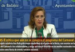 El GMS-R critica que aún no se conozca el programa del Carnaval 2012
