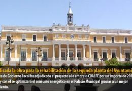 Adjudicada la obra para la rehabilitación de la segunda planta del Ayuntamiento