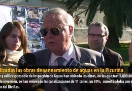 Finalizadas las obras de saneamiento de aguas en la Picuriña