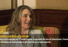 Entrevista con Blanca Subirán