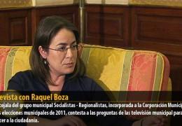 Entrevista con Raquel Boza