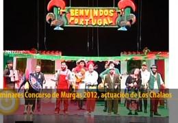 Actuación Los Chalaos (Preliminares 2012)