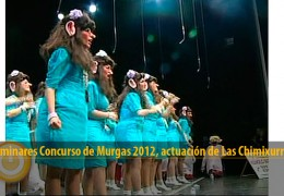 Actuación Las Chimixurris (Preliminares 2012)