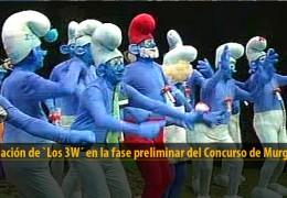 Actuación de Los 3W (Preliminares 2012)