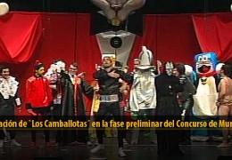 Actuación de Los Camballotas (Preliminares 2012)
