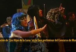 Actuación de Los Hijos de la Luna (Preliminares 2012)