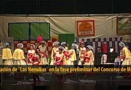 Actuación de Las Nenukas (Preliminares 2012)