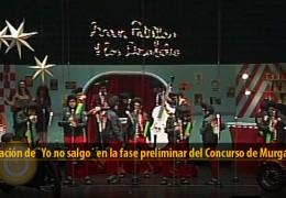 Actuación de Yo no salgo (Preliminares 2012)