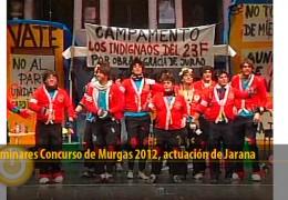 Actuación Jarana (Preliminares 2012)
