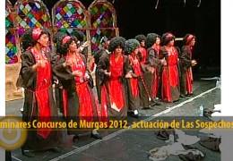 Actuación Las Sospechosas (Preliminares 2012)