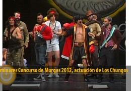 Actuación de Los Chungos (Preliminares 2012)
