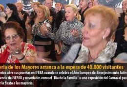 La Feria de los Mayores arranca a la espera de 40.000 visitantes