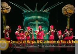 Actuación de Pixa a la Fulaneska (Preliminares 2012)