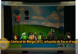 Actuación de Ese es el espíritu (Preliminares 2012)