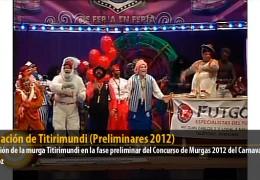 Actuación de Titirimundi (Preliminares 2012)