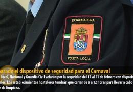 Preparado el dispositivo de seguridad para el Carnaval