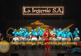 Actuación de Los Mirinda (Semifinales 2012)