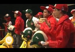 Actuación de Los Murallitas (Semifinales 2012)