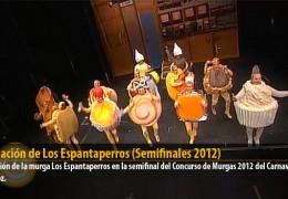 Actuación de Los Espantaperros (Semifinales 2012)