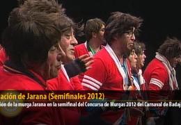 Actuación de Jarana (Semifinales 2012)