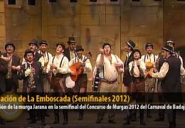 Actuación de La Emboscada (Semifinales 2012)