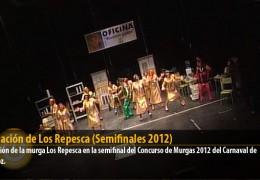 Actuación de Los Repesca (Semifinales 2012)
