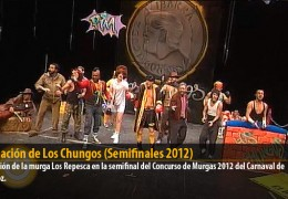 Actuación de Los Chungos (Semifinales 2012)