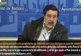 IU ofrece asesoramiento a los propietarios de viviendas del Casco Antiguo en zona de rehabilitación