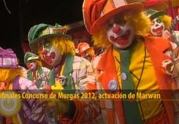 Actuación de Marwan (Semifinales 2012)
