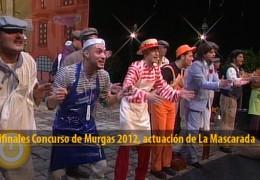 Actuación de La Mascarada (Semifinales 2012)
