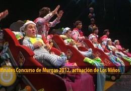 Actuación de Los Niños (Semifinales 2012)