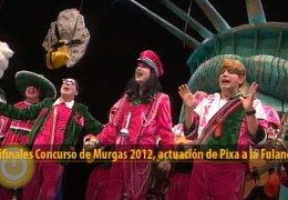 Actuación de Pixa a la Fulaneska (Semifinales 2012)