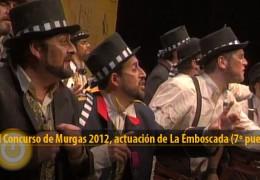 Actuación de La Emboscada (Final 2012, 7º puesto)
