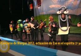 Actuación de Ese es el espíritu (Final 2012, 5º puesto)